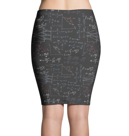 Physics Formula Skirt