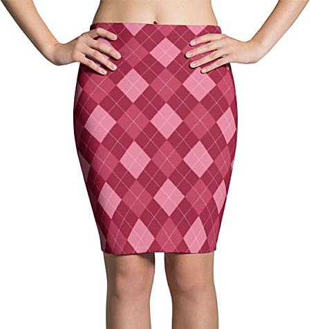 Argyle Skirts