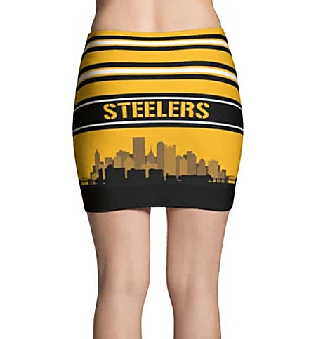 NFL Pittsburgh Steelers Mini Skirt