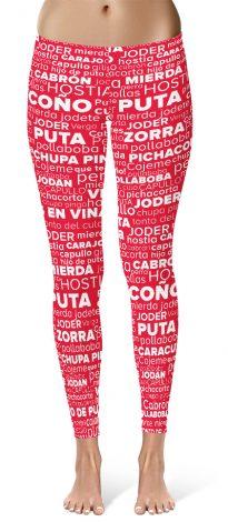 Spanish Swear Word Leggings