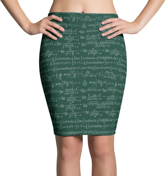 Trigonometrical Formulas & Integrals Math Skirt