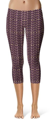 3d cropped leggings