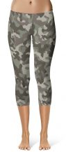 Camo camouflage Leggings Crop Leggings