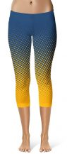 Halftone Crop Leggings