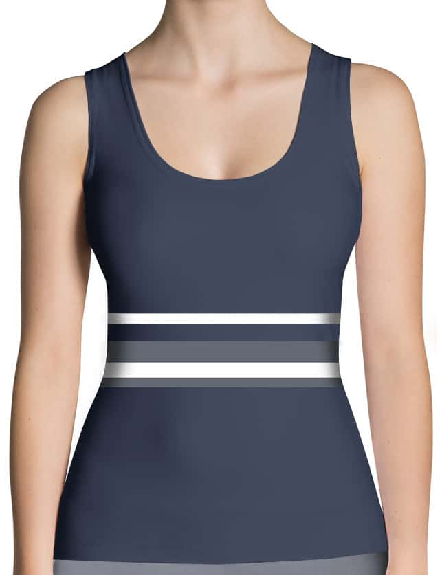 Hot Strip Thinning Tank Top