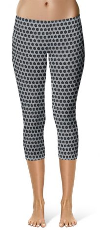 Metal Grill Leggings
