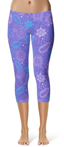 Microbe Virus Science Leggings - Cropped Capri