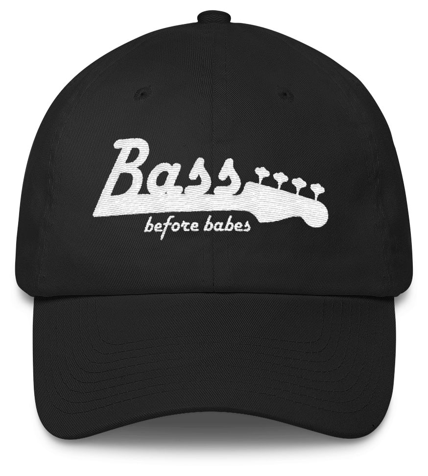 Bass Before Babes - Bassist musician twill hat cap