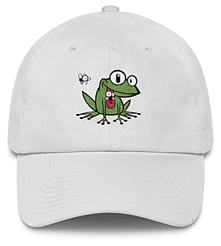 Green Frog Baseball Cap Twill Hat