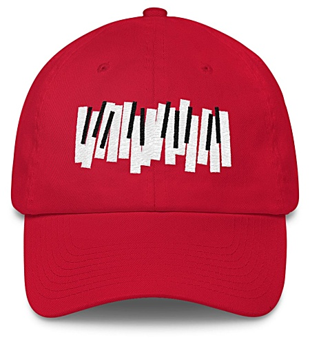 Piano Keys Baseball Cap / Twill Hat