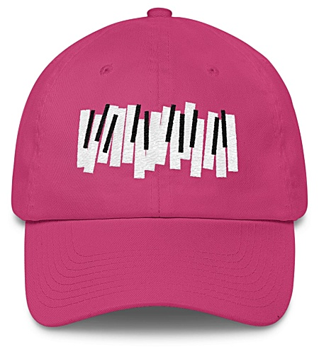 Piano Keys Baseball Cap / Twill Hat