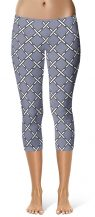 X designer cropped leggings by Squeaky Chimp