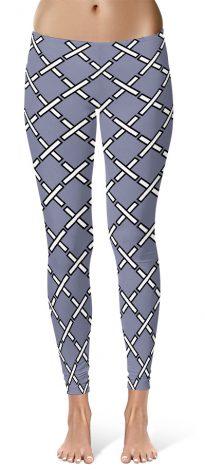 X designer leggings by Squeaky Chimp