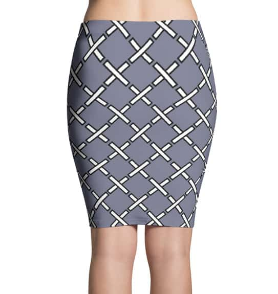 X designer skirts by Squeaky Chimp