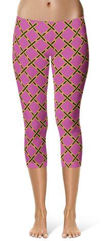 Crop leggings inspired by Project Runway - X designer leggings by Squeaky Chimp