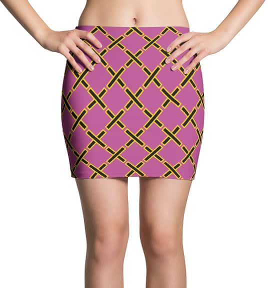Mini skirt inspired by Project Runway - X designer skirts by Squeaky Chimp