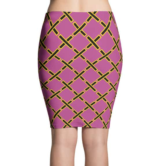 Pencil skirt inspired by Project Runway - X designer skirts by Squeaky Chimp