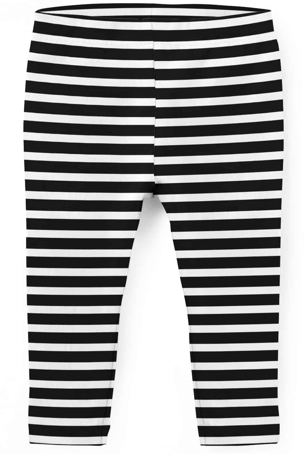 ad0d082f870dac Horizontal Stripe Kids Leggings - Designed By Squeaky Chimp Tshirts ...