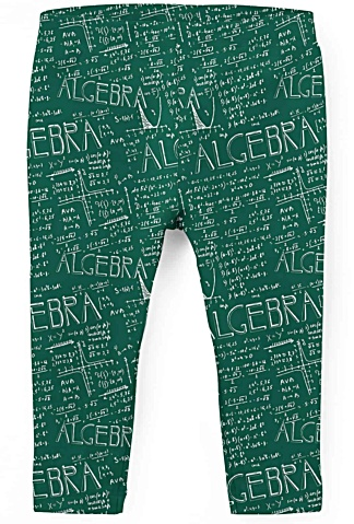 Math & Algebra Kids Leggings