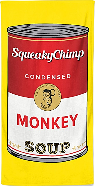 Monkey Soup Beach Towel