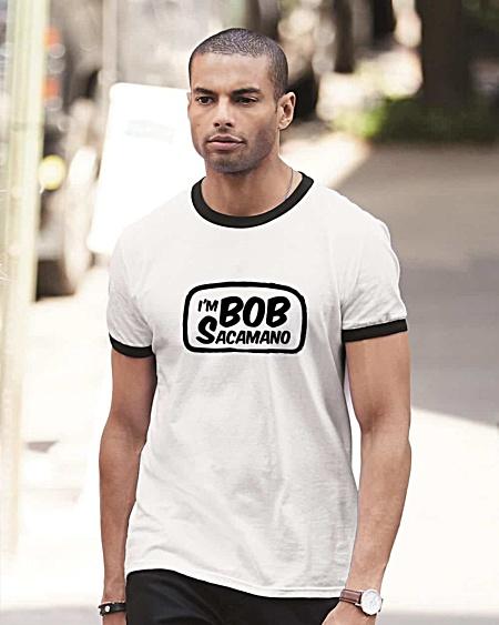 I am Bob Sacamano T-shirt - Seinfeld TV Serious