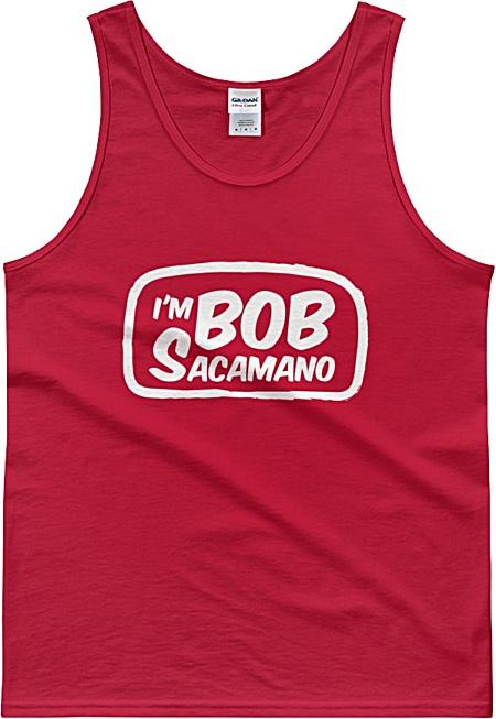 I'm Bob Sacamano Seinfeld Baseball Unisex Tank Top