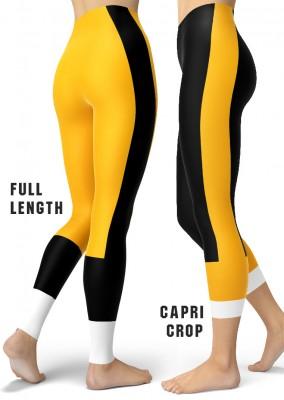 Pittsburgh Steeler Leggings - Pittsburgh Penguin Leggings - Pittsburgh Pirate Leggings