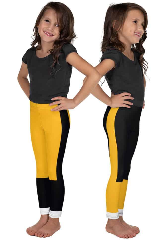 Pittsburgh Steeler Kids Leggings - Pittsburgh Penguin Kids Leggings - Pittsburgh Pirate Kids Leggings
