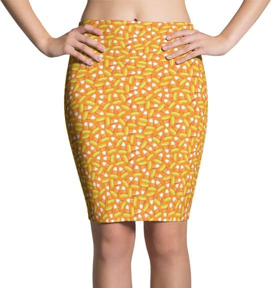 halloween-candy-corn-skirt-pencil