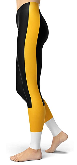 Pittsburgh Steeler Leggings - Pittsburgh Penguin Leggings - Pittsburgh Pirate Leggings
