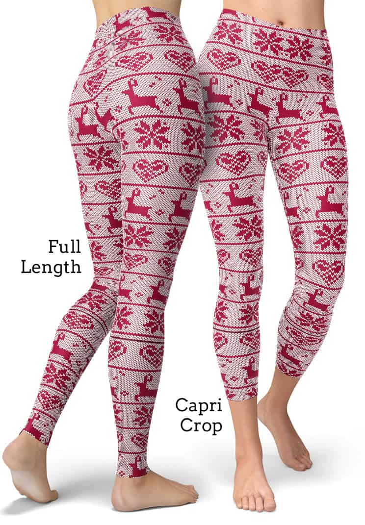 Ugly Christmas Sweater Leggings - Best Christmas Gifts