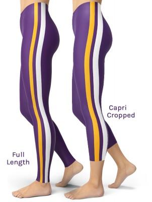 Sexy Purple & Gold Minnesota Vikings Leggings