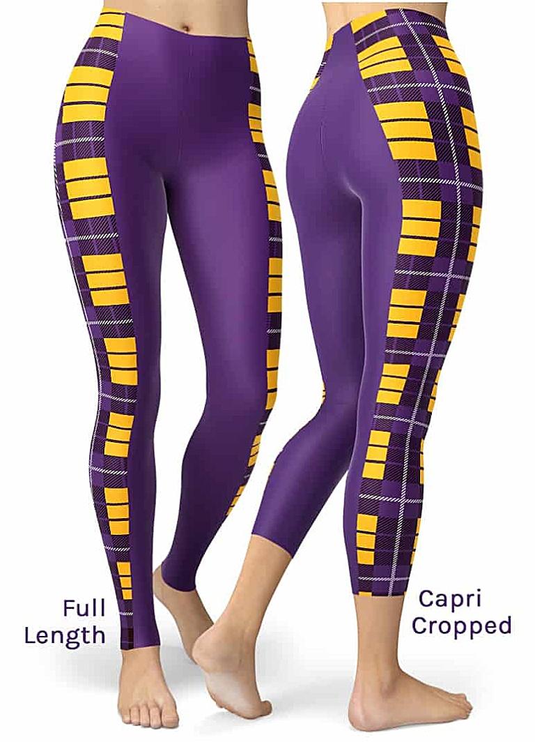 Sexy Purple minnesota vikings leggings