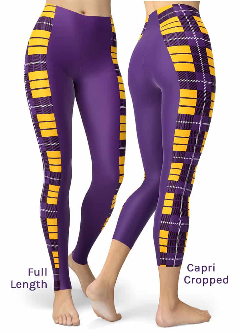Sexy Purple minnesota vikings leggings
