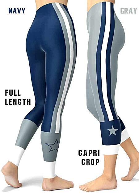 Dallas Cowboy Sports NFL Football Leggings