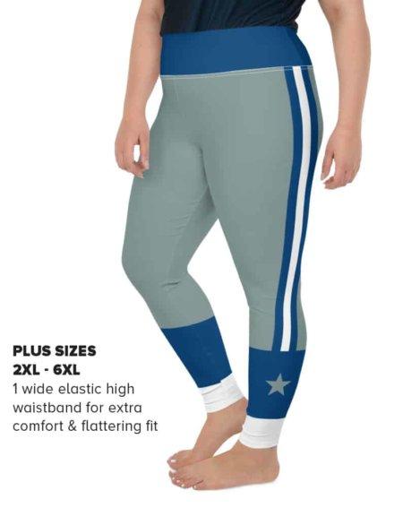 Plus size Dallas Cowboy Sports NFL Football Leggings
