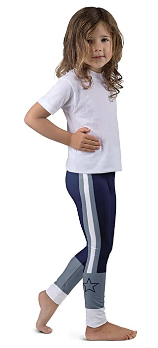 Dallas Cowboy Sports NFL Football Youth Leggings for Kids