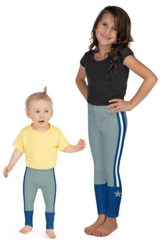 Dallas Cowboy Sports NFL Football Youth Leggings for Kids