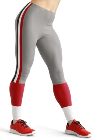 Georgia Bulldogs Sports NFL Football Leggings Tailgating leggings