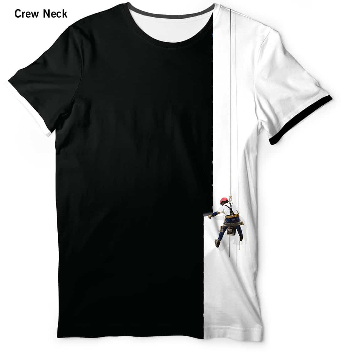 Creative painter t shirt men 39 s short sleeve designed for T shirt creative design