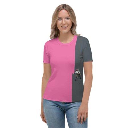 Creative Painter T-shirt - Women's Short Sleeve Top