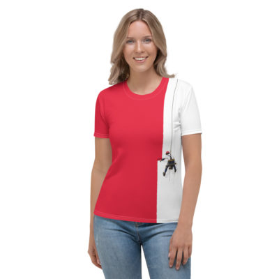 Creative Painter T-shirt - Women's Short Sleeve Top