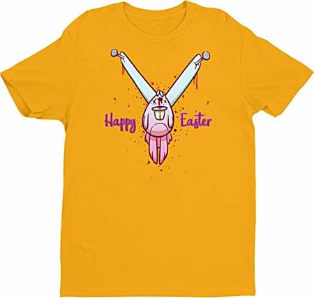 dead bunny t shirt - rude t shirts - rude easter shirt