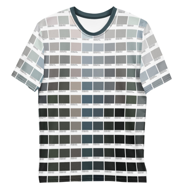 Grayscale Color Pantone T shirt Women's crew Neck Tee for Graphic Designers