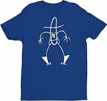 Stickman stick shirt figure cowboy t-shirt