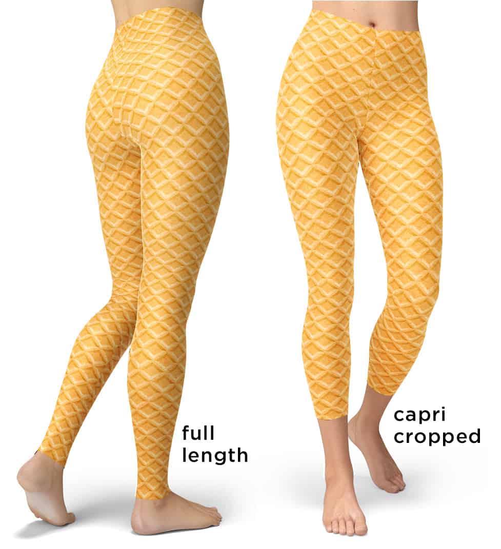 df11dda7242e87 Ice Cream Cake Cone Costume Leggings - Designed By Squeaky Chimp ...
