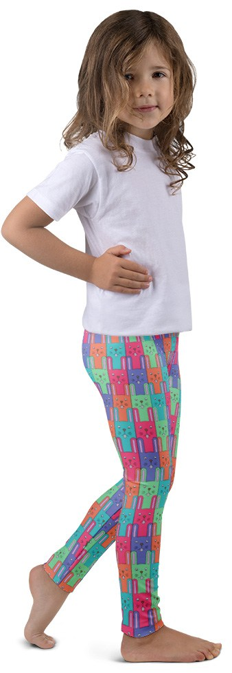 Easter Bunny Leggings - Bunny Leggings - Easter Leggings - Children's Leggings - Kids Leggings