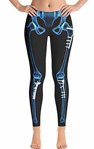 xray leggings - x-ray skeleton legging - Halloween outfits