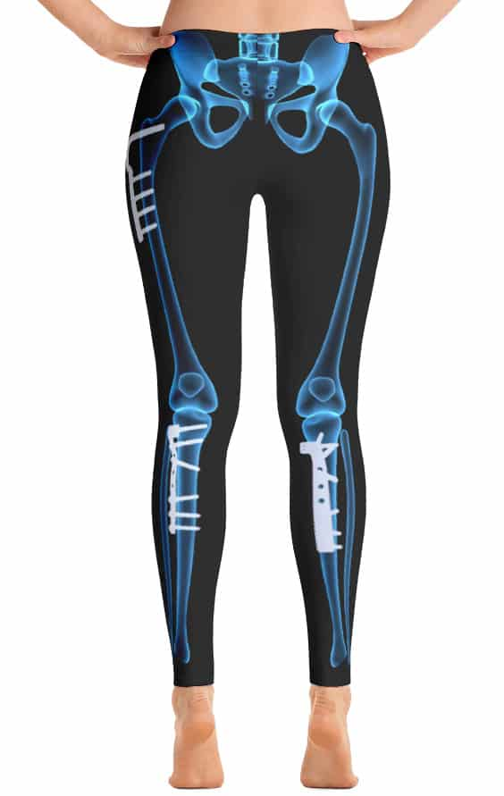 xray leggings - x-ray skeleton legging - Halloween outfits