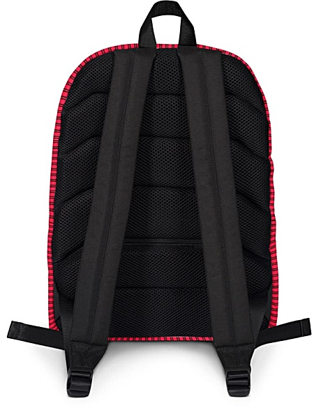 Classic Pinstripe Backpack - Designer Bags